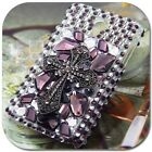 Gothic Cross Bling Rhinestone Crystal Gems Back Hard Skin Case Cover For Nokia