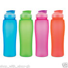 750ml Bright Drinking Water BOTTLE - BPA Free Plastic Sports Gym Fitness Drinks