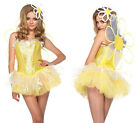 LEG AVENUE Daisy Doll Sexy Fairytale Halloween Fancy Dress Costume 85113