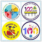 Girl Guide/ Girl Scout 100 Years Anniversary Jamboree 32mm Button Pin Badge