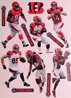 "Cincinnati Bengals Mini FATHEAD Official NFL Vinyl Wall Graphic 7"" PICK ONE"