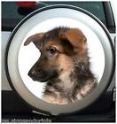 GERMAN SHEPHERD SPARE WHEEL COVER STICKER 4X4 (CHOICE OF SIZES)