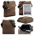 Vintage Men's Canvas Leather Shoulder Bag Crossbody Messenger Satchel Bag New