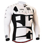 FIXGEAR_3401 mens team cycling jersey clothes BIKE Longsleeve shirts S~3XL