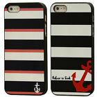 Coque housse case cover maritime ancre Samsung Apple S3 S4 mini iPhone 4 4S 5 5S