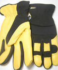 Wells Lamont Deerskin Leather Thinsulate Mens Gloves L or XL Large Extra Large