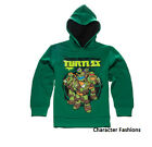TEENAGE MUTNAT NINJA TURTLES 6 7 8 10 12 14 16 Boys SWEATSHIRT HOODIE Top Jacket