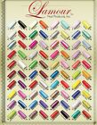 Made in USA Lamour Nail Tips Variety Color 61 to 80 Assorted Choice 110ct/box