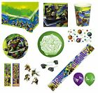TEENAGE MUTANT NINJA TURTLES TMNT Birthday PARTY RANGE (Tableware & Balloons)