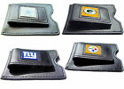 leather money clip NFL cowboys steelers packers giants