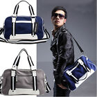 Man's Canvas Shoulder Bag Handbags Fashion Weekend Bags Messenger Bag EAB03d
