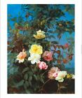 "GEORGE COCHRAN LAMBDIN ""Roses"" FLOWERS browse our SHOP various SIZES, BRAND NEW"