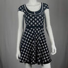 Authentic SOURPUSS Patsy Jolly Roger Crossbones Rockabilly Pinup Dress S-XXL New