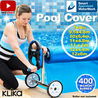 APPROVED UV STABALISED SOLAR SWIMMING POOL COVER BUBBLE BLANKET HEATER 9.5mx4.8m