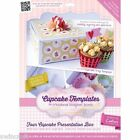 NEW! Crafters Companion Cupcake Box Templates - Cutting Template Stencil