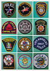 Each Only $4.99 - Collectible Old Embroidered USA States Police Shoulder Patches
