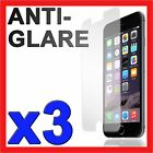 3x Anti Glare Matte Screen Protector Film Guard NEW for Apple iPhone 6 6S 6 Plus