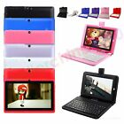 A33 Tablet PC 7 Android 4.4 KitKat Quad Core 512M 16GB WIFI Bundle + Keyboard