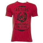 Alpinestars Men's Short Sleeve T-Shirt Blood Sweat & Gears Tee Red