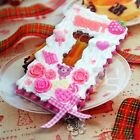 Kawaii Sweets Pink Deco Bear Cute Whipped Cream Hard Skin Case Cover For Nokia