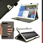 "PU Leather Folio Case for Samsung Galaxy Tab S 10.5"" SM-T800 SM-T805 Flip Cover"