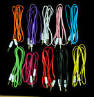 1 to 1000 pcs 3.5mm AUX AUXILIARY CORD Cable Male to Male Stereo Audio WHOLESALE