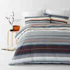 Alex Orange Striped   Quilt / Doona Cover Set All Sizes NEW 30 - 40% off RRP