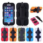 Military Heavy Duty Tough Shockproof Case Cover with Belt Clip for iPhone 6 Plus