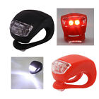 Hot safe Waterproof LED Light Silicone Bike Bicycle headlight lamp touch Flash