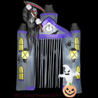 9.5Ft Gemmy Airblown Lighted Reaper Archway Halloween Inflatable Yard Prop Decor