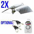 2x Adjust A Wing Large Reflector Series w/ Cord Grow Light Optional Rope + Timer