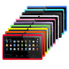 7 Android 4.4 KitKat Quad Core A33 Tablet PC 512M 16GB WIFI 3G For Kids Gift