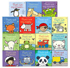That's not my Toddlers Books Collection Set Fiona Watt Fairy Kittenn Mermaid