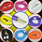 1 to 1000 pcs 3.5mm AUX Auxiliary Cable Male to Male Stereo for PC MP3 CAR Lot