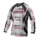 Polaris Red & White RZR Long Sleeve Moisture Wicking Racing Jersey M-2XL