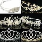 Bridal Prom made with Swarovski Crystal Silver / Gold Plated Tiara  T16 17 18