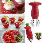 Strawberry Remover Removal Fruit Corer Kitchen Tool Berry Stem Gem Leaves Huller