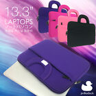 Fuchsia Laptop Carrying Bag Sleeve Case for Apple Macbook Air / Pro 13 13.3