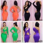 Fashion Sexy Lady women One Shoulder Slim Club Evening Party Cocktail Dress