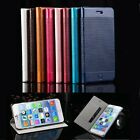 Luxury Magnetic Flip Cover Stand PU Leather Wallet Case For iPhone 6 6 Plus