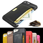 New Leather Wallet Cards Case Flip Cover For Apple iPhone 6