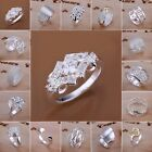 Wholesale Women's Fashion Jewelry S925 Sterling silver SP Ring  US size 8