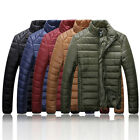 2015 HOT FASHION XMAS Mens Boys winter warm down cotton thick jacket coat Padded