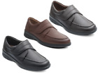 Padders Solar Mens Wide Fitting Velcro Fastening Comfort Shoe FREEPOST