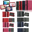 "New 7"" inch Leather Protective Stand folio Case Skin Cover for Android Tablet PC"
