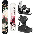 2014 Lamar ROSE 148 Womens Snowboard+FLOW Bindings+FLOW Vega BOA Boots NEW