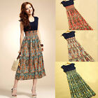 Sexy Women Girl  Boho Maxi Summer Long Evening Party Dress Beach Dress Fashion
