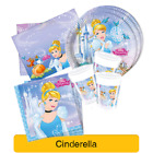 Disney CINDERELLA Princess Birthday Party Range - Tableware Decorations Supplies