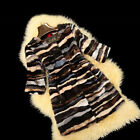 Mink Fur Coat Jacket Women Girl Overcoat Outerwear Mutil-Color Hot Sale Beauty