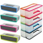 Clear Silicone Rubber Skin Cover Case For Bose-SoundLink Mini 1/Mini 2 Speaker